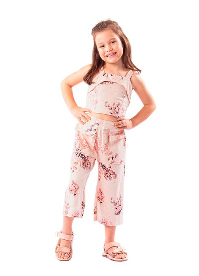 Conjunto-Infantil-Menina-Cotton-Estampa-De-Fundo-Do-Mar-Mundi