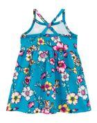 Vestido-Infantil-Menina-Malha-Estampa-De-Flores-Brandili