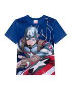 Camiseta-Infantil-Menino-Malha-Estampa-Capitao-America-Brandili