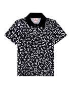 Camisa-Polo-Infantil-Menino-Malha-Estampa-De-Letras-Brandili