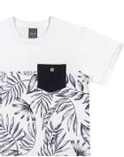 Camiseta-Infantil-Menino-Malha-Estampa-De-Folhas-Mundi
