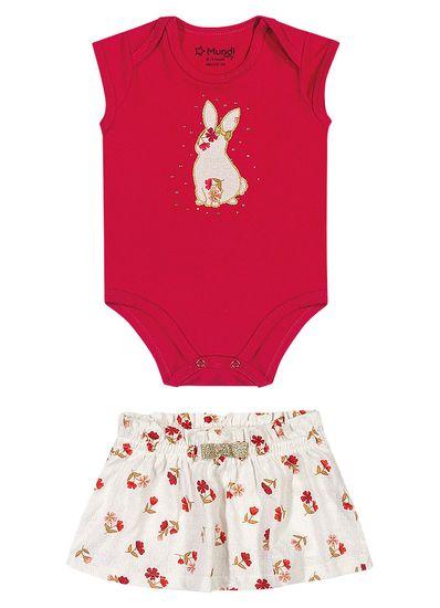 Conjunto-Bebe-Menina-Cotton-Estampa-De-Coelhinho-Mundi-Baby