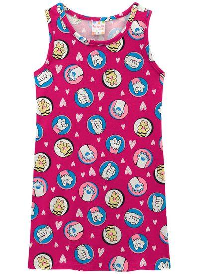 Vestido-infantil-menina-de-malha-com-estampa-de-patinhas-Brandili