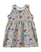 Vestido-infantil-menina-de-malha-com-estampa-de-borboletas-e-passaros-Brandili