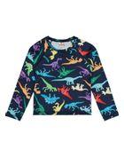 Camiseta-Infantil-Menino-De-Malha-Uv-Com-Estampa-De-Dinossauro-Brandili