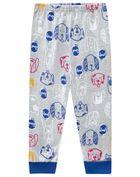 Pijama-infantil-menino-de-malha-com-estampa-de-cachorrinhos-Hora-de-dormir-Brandili