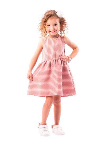 Vestido-infantil-menina-com-listras-Brandili